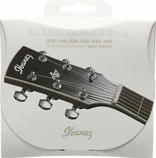 Ibanez iacs6c 80/20 Strings for Acoustic Guitar Acoustic 6-String - 012-053