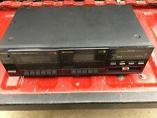 Vintage Mitsubishi Double Cassette Deck Model DT-77 Dual Cassette Player