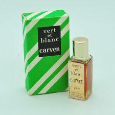 Carven Vert et blanc 1/6 oz Vintage perfume parfum