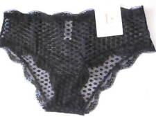 LOVABLE EVELINA XLGE XL Boyleg Brief Black Lace Rrp $30