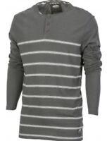 VANS New Mens Classic  Long Sleeve Raglan T-Shirt Top  Creme or Grey   RRP £35