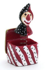Jester in a Box, Doll House Miniature Jack in a Box, 1/12 Scale, Nursery