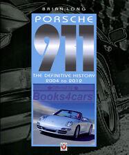 PORSCHE 911 LONG BOOK DEFINITIVE HISTORY BRIAN 2004-2012