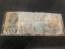 Confederate States of America Note $5.00