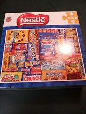 "Masterpieces Nestle Candy 1000 Piece Jigsaw Puzzle 26.75"" X 19.25"""