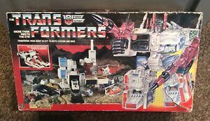 VINTAGE TRANSFORMERS G1 METROPLEX, 1985 HASBRO, 1980'S AUTOBOT CITY,