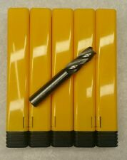 3/8 Variable Helix End Mill 4 Flute Solid Carbide Endmill Lot-5 Tools USA Made