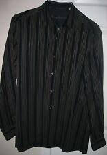 Tommy Bahama 100% Tencel Mens Long Sleeve Button Front Shirt Medium