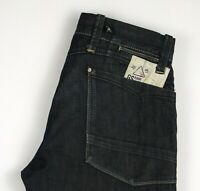 G-Star Brut Hommes Cabine Pantalon Jeans Jambe Droite Taille W33 L28 AMZ489