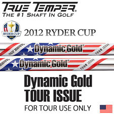 """#3 NEW 2012 RYDER CUP TOUR ISSUE DYNAMIC GOLD S400 .355"""" TAPER TIP IRON SHAFT"""
