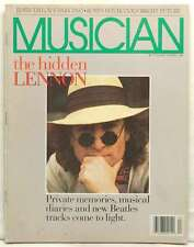 MUSICIAN MAGAZINE JOHN LENNON REMEMBERED PRIVATE MEMORIES DIARIES THE BEATLES!!!