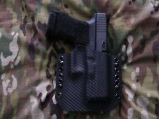 Black Carbon Fiber Kydex Glock 29 30 Holster