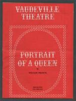 'Portrait of a Queen'   1965. Dorothy Tutin. Peter Vaughan. Vaudeville  pr.84