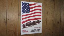 F1 Grand Prix USA 1967  Porsche Repro POSTER