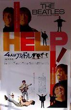 Beatles Japanese Help Film Poster