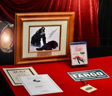 """Signed FARGO """"Frances McDormand"""" Autograph, COA FRAME, Plaque, DVD Blu Ray +More"""