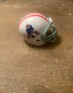Riddell pocket pro football helmet AFL New England Patriots Traditionl facemask