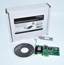 Startech PCI Express Gigabit Ethernet Multimode SC Fiber Card PEX1000MMSC2