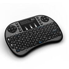 RII mini i8+ teclado inalámbrico con touchpad y teclado iluminación Funk para PC