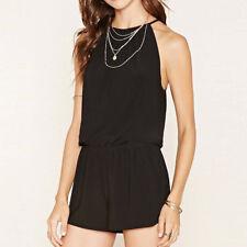 Women Ladies Mini Playsuit Jumpsuit Romper Summer Beach Casual Shorts Mini Dress