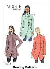 Vogue V9212 PATTERN - Misses Jacket - Brand New - 6-22