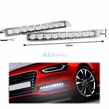 2pcs 9 LED Daytime Running Light DRL Daylight Kit Fog lights for Audi C6 A6 S6