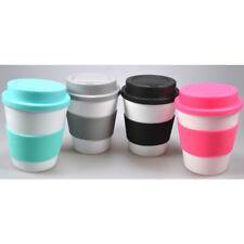 4x Kaffeebecher Coffee to Go 350ml Kaffee Tee Becher Trinkbecher Teebecher