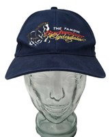 The Famous Budweiser Clydesdales Baseball Cap Blue Cotton OSFM Strap Back *Read*