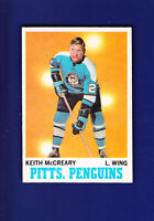 Keith McCreary 1970-71 O-PEE-CHEE OPC Hockey #93 (EXMT) Pittsburgh Penguins