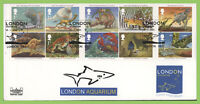 G.B. 2002 Just So Stories set on Havering First Day Cover, London Aquarium
