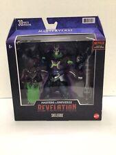 MOTU Revelation Skelegod Skeletor New in Box MIB In Hand Masters Universe He Man