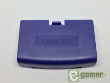 New Nintendo Gameboy Advance Replacement Battery Cover Purple