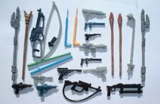 NICE 25+ Weapons LOT for Vintage 1977-1983 Star Wars Ewoks, Leia, Han, Chewbacca