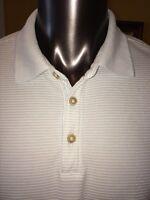 Mens TOMMY BAHAMA Light Blue Short Sleeve Modal Polyester Polo Golf Size XL