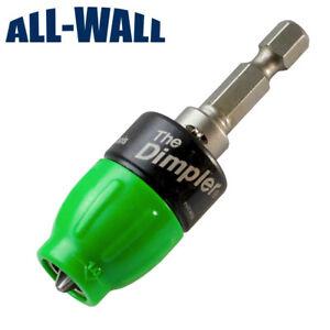Sheetrock Dimpler Drywall Screw Setter Bit - Countersink, Reversible w/Clutch
