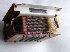 USSR Soviet Magnetic Ferrite Core Memory Block Cube 288 byte 9 Plates 1976 Rare