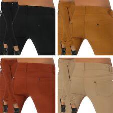 Damen Jeans Look Hose Stretch Leggings Leggins Treggings Skinny Jeggings G741