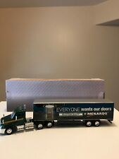 "Menards 12"" Diecast Semi Truck Commercial Mastercraft Trailer  Rig Day Cab"