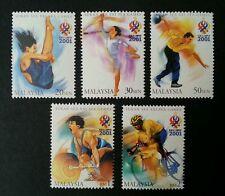 XXI SEA Games 2001 Malaysia Stadium Sport Building Running Jumping (stamp) MNH