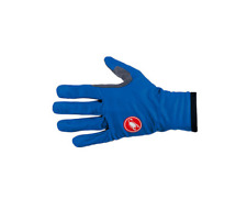 Castelli Cycling Scudo Glove Men's Large Ceramic Blue Windproof