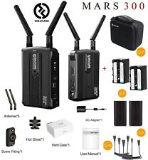 Hollyland Mars 300 Dual HDMI Wireless Video Transmitter & Receiver Set 5G RX1080