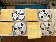 """JIMMIE HASKEL """"MARK, I LOVE YOU"""" FILM MUSIC LOT OF 4 REEL TAPES"""