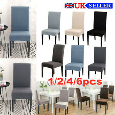 Removable Dining Chair Seat Covers Slip Stretch Wedding Banquet Dining Room Hot