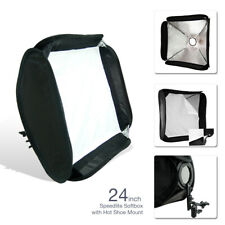 Lighting Diffuser Soft box for Speedlite with Shoe Mount and Rotating Ball Head