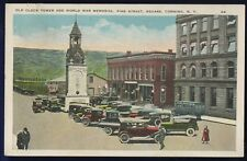 Old Clock Tower and World War Memorial Pine Street Square Corning New York