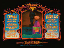 Sixties - Fillmore West Concert Poster reprint (1968)