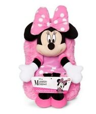 "Disney Minnie Mouse Hideaway Pillow 14"" inches Pets Travel Stuffed Plush New/tag"