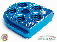 Dillon Precision XL 650 Style tool head Billet Aluminum CNC Made toolhead BLUE