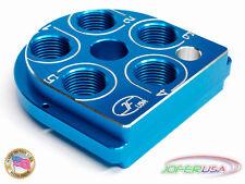 Dillon Precision XL 650 Style tool head Billet Aluminum CNC Made toolhead BLUE