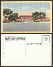 Old Railroad Postcard - Ogden, Utah - Union Depot